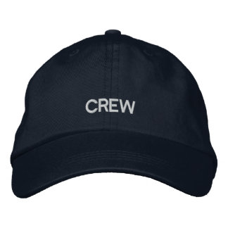 Crew Embroidered Adjustable Cap Baseball Cap