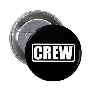 Crew Member - Event Team Staff 6 Cm Round Badge