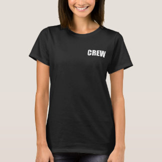 Crew Member - Event Team Staff T-Shirt