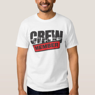 crew members t-shirts