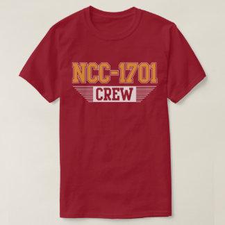 Crew NCC-1701 Sci Fi Geek Nerd Spaceship T-Shirt