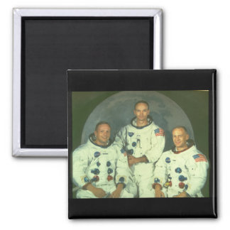 Crew of an Apollo Mission_Space Square Magnet