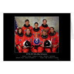 Crew of the STS-83 Shuttle Mission - 1997 Greeting Cards