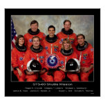 Crew of the STS-83 Shuttle Mission... Print