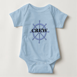 Crew Ship Wheel Infant T-shirts