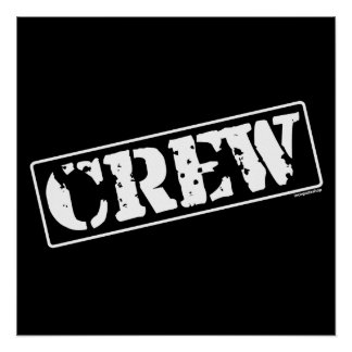 Crew Stamp Posters