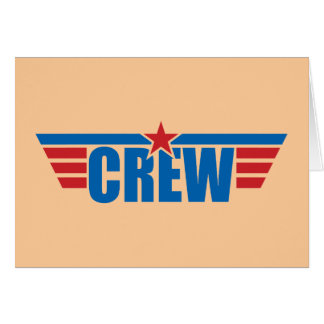 Crew Wings Badge - Aviation Cards