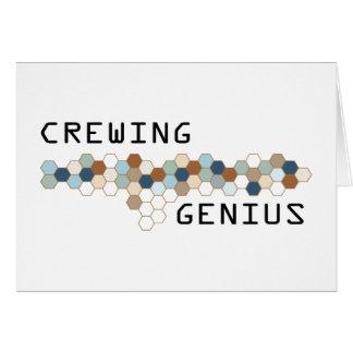 Crewing Genius Greeting Cards