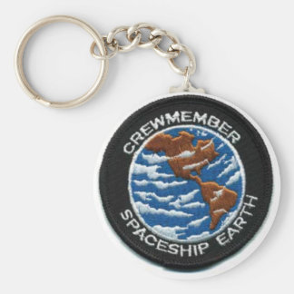 Crewmember Spaceship Earth Keychains
