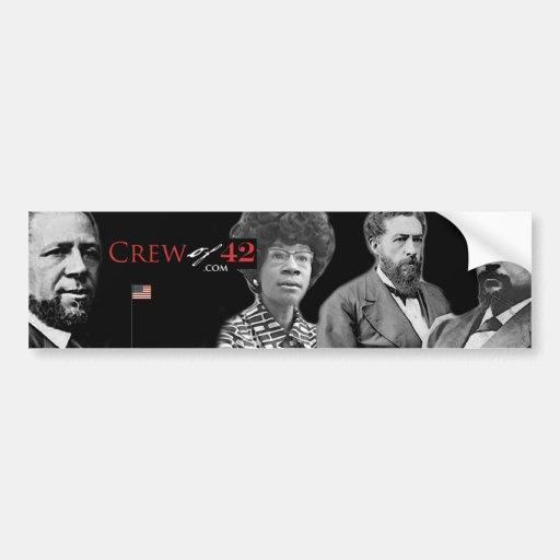 crewof42.com bumper sticker