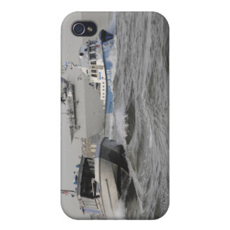 Crews from the coast guard and police departmen iPhone 4 cover