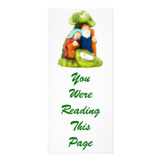 Crib Bookmark Template Personalized Rack Card