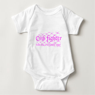 Crib Fighter - from the crib to the cage! T-shirt