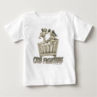 Crib Fighters Crib Brawl Baby T-Shirt