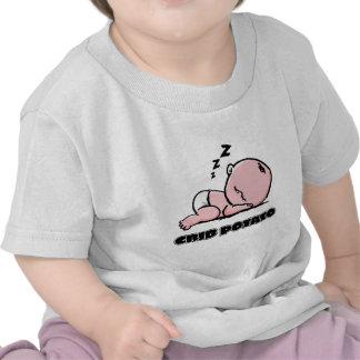 Crib Potato- Small Sleeping Baby Tee Shirt