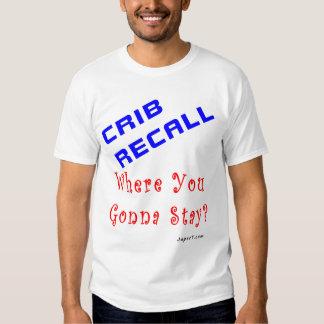 Crib Recall Tee Shirts