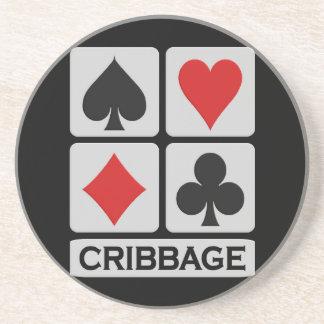 Cribbage coaster