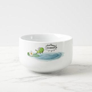 Cribbage Frog Soup Mug