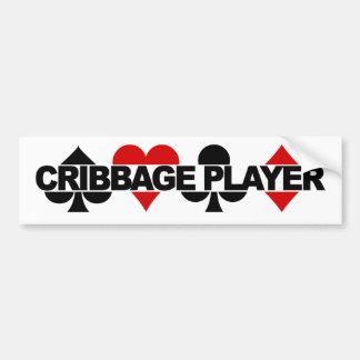 Cribbage Player bumpersticker Bumper Sticker