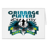 Cribbage Players Gone Wild Greeting Cards