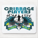 Cribbage Players Gone Wild Mouse Mats