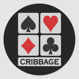 Cribbage stickers
