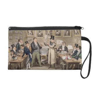 Cribb's Parlour: Tom introducing Jerry and Logic t Wristlet Purse