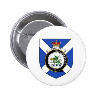 Crichton 6 Cm Round Badge