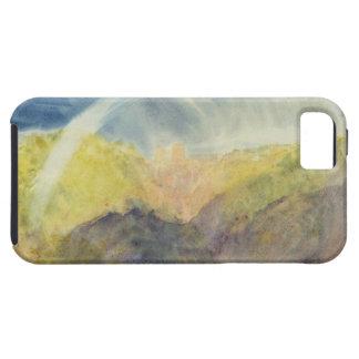 Crichton Castle (Mountainous Landscape with a Rain iPhone 5 Case