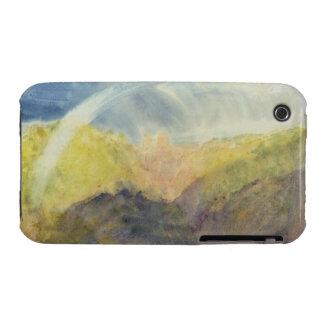 Crichton Castle (Mountainous Landscape with a Rain Case-Mate iPhone 3 Cases
