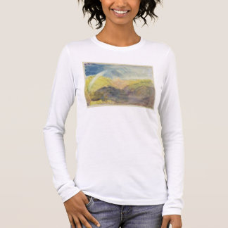 Crichton Castle (Mountainous Landscape with a Rain Long Sleeve T-Shirt