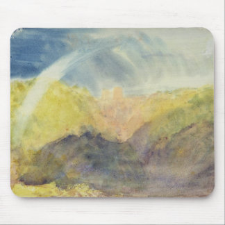 Crichton Castle (Mountainous Landscape with a Rain Mouse Pad