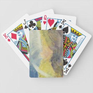 Crichton Castle (Mountainous Landscape with a Rain Playing Cards