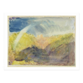 Crichton Castle (Mountainous Landscape with a Rain Postcard