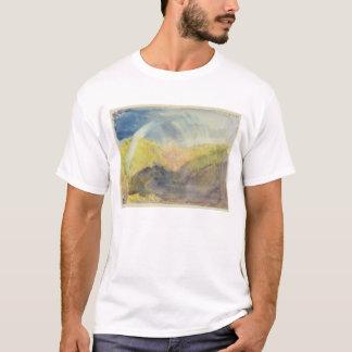 Crichton Castle (Mountainous Landscape with a Rain T-Shirt