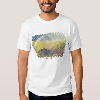 Crichton Castle (Mountainous Landscape with a Rain T Shirts