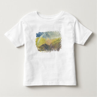 Crichton Castle (Mountainous Landscape with a Rain Toddler T-Shirt