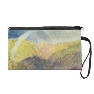 Crichton Castle (Mountainous Landscape with a Rain Wristlet Clutch