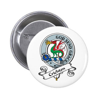 Crichton Clan Badge Pin