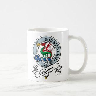 Crichton Clan Badge Basic White Mug