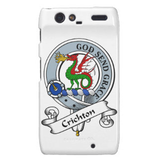 Crichton Clan Badge Motorola Droid RAZR Case