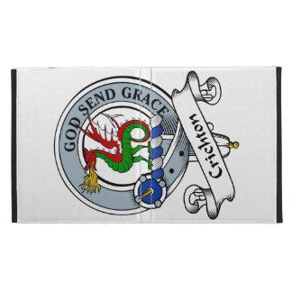 Crichton Clan Badge iPad Folio Cover