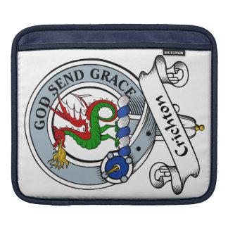 Crichton Clan Badge iPad Sleeve