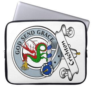 Crichton Clan Badge Laptop Sleeve