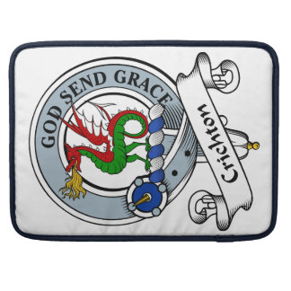 Crichton Clan Badge Sleeves For MacBook Pro