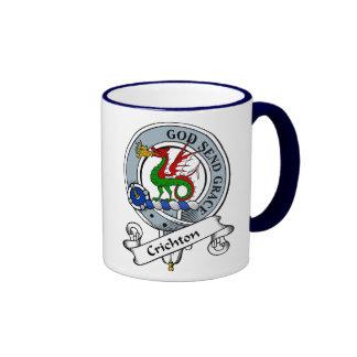 Crichton Clan Badge Mugs