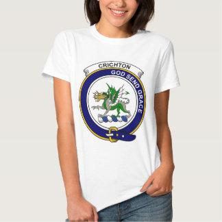 Crichton Clan Badge Tees