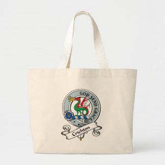 Crichton Clan Badge Jumbo Tote Bag