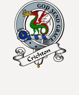 Crichton Clan Badge T-shirts
