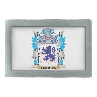 Crichton Coat of Arms - Family Crest Rectangular Belt Buckles
